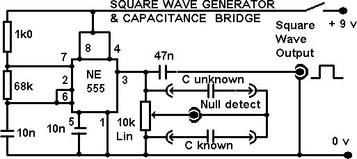 assembly of the f u0026darc square wave generator  bridge