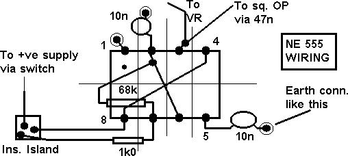 assembly of the f u0026darc square wave generator  bridge